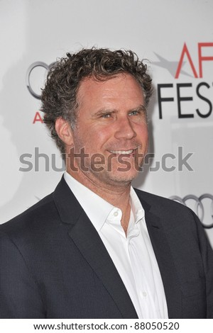 "Will Ferrell at the AFI Fest premiere of ""Abel"" at Grauman's Chinese Theatre, Hollywood. November 7, 2010  Los Angeles, CA Picture: Paul Smith / Featureflash - stock photo"