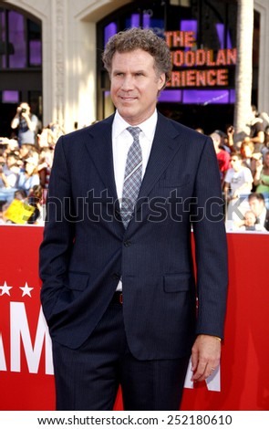 "Will Ferrell at the Los Angeles premiere of ""The Campaign"" held at the Grauman's Chinese Theater in Los Angeles, United States on August 2, 2012. - stock photo"