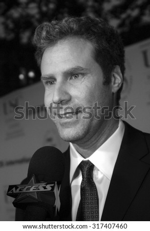 Will Ferrell at the 75th Diamond Jubilee Celebration for the USC School of Cinema-Television held at the USC's Bovard Auditorium in Los Angeles, USA on September 26, 2004. - stock photo