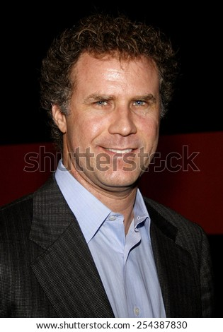 Will Ferrell attends the 2006 Sony Global Partners Conference Gala Dinner held at Rodeo Drive in Beverly Hills, California on September 29, 2006.  - stock photo