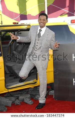 Will Smith at Premiere of HANCOCK, Grauman's Chinese Theatre, Hollywood, CA, June 30, 2008  - stock photo
