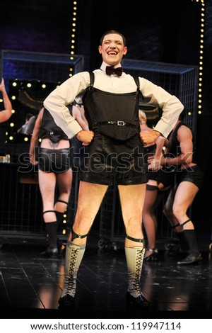 Will Young as Emcee in 'Cabaret'  at the Savoy Theatre, London. 08/10/2012 Picture by: Steve Vas