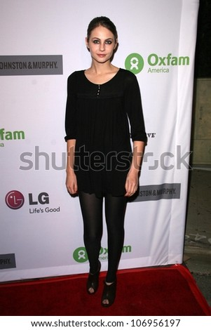 Willa Holland  at 'The Annual Oxfam Party'. Esquire House, Hollywood, CA. 11-14-08