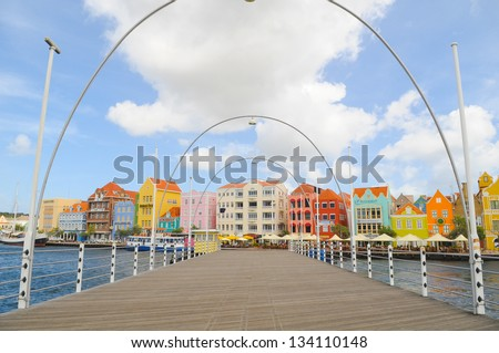 Willemstad, Curacao - stock photo