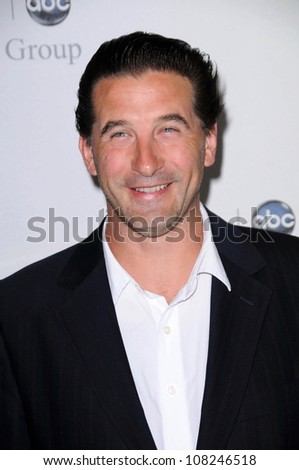 "William Baldwin  at Disney and ABC's ""TCA All Star Party"". Beverly Hilton Hotel, Beverly Hills, CA. 07-17-08 - stock photo"