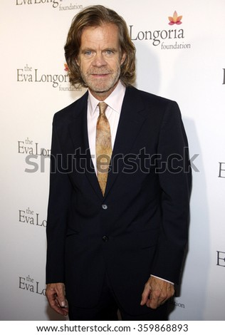 William H. Macy at the Eva Longoria Foundation Dinner  held at the Beso in Los Angeles, USA on October 9, 2014.