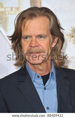 "William H. Macy at the Los Angeles premiere of his new movie ""The Lincoln Lawyer"" at the Cinerama Dome, Hollywood. March 10, 2011  Los Angeles, CA Picture: Paul Smith / Featureflash"
