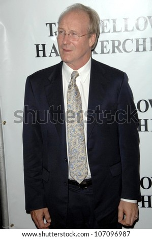 William Hurt  at the Los Angeles Premiere of 'The Yellow Handkerchief'. WGA Theatre, Beverly Hills, CA. 11-25-08