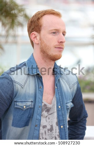 William Ruane during the 'The Angel's Share' photocall during the 65th Cannes Film Festival, Cannes, France. 22/05/2012 Picture by: Henry Harris / Featureflash - stock photo
