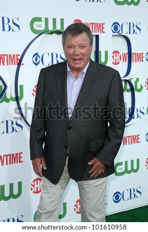 William Shatner at the CBS, The CW, Showtime Summer Press Tour Party, Beverly Hilton Hotel, Beverly Hills, CA. 07-28-10 - stock photo
