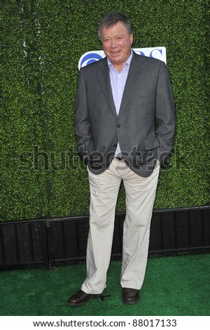"William Shatner - star of ""S#*! My Dad Says"" - at CBS TV Summer Press Tour Party in Beverly Hills.  July 28, 2010  Los Angeles, CA Picture: Paul Smith / Featureflash"
