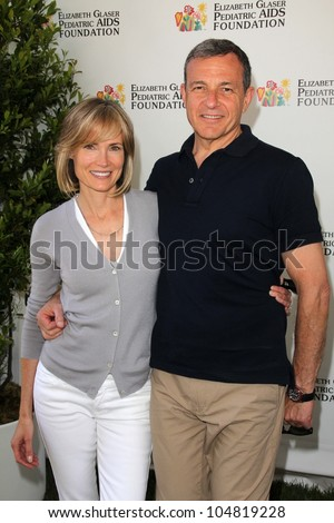 "Willow Bay, Robert Iger at the Elizabeth Glaser Foundation's ""A Time for Heroes"" Celebrity Picnic, Wadsworth Theater, Los Angeles, CA 06-03-12"