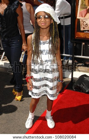 "Willow Smith  at the world premiere of ""Kit Kittredge: An American Girl"". The Grove, Los Angeles, CA. 06-14-08 - stock photo"