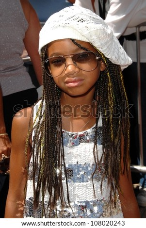 "Willow Smith  at the world premiere of ""Kit Kittredge: An American Girl"". The Grove, Los Angeles, CA. 06-14-08"