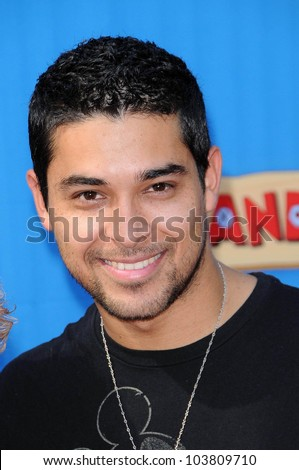 Wilmer Valderrama  at the Los Angeles Premiere of 'Handy Manny Motorcycle Adventure'. Arclight Hollywood, Hollywood, CA. 09-26-09 - stock photo