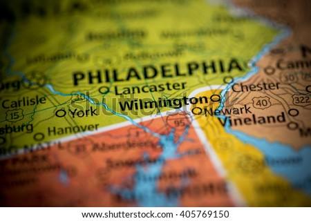 Wilmington. Delaware. USA - stock photo