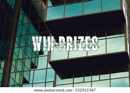 Win Prizes, Business Concept