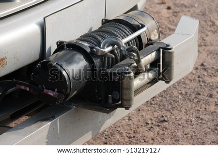 Winch - offroad equipment