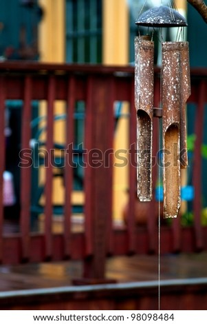 Wind Chime - stock photo