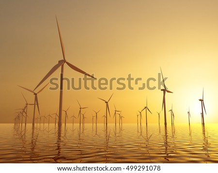 wind electric generators
