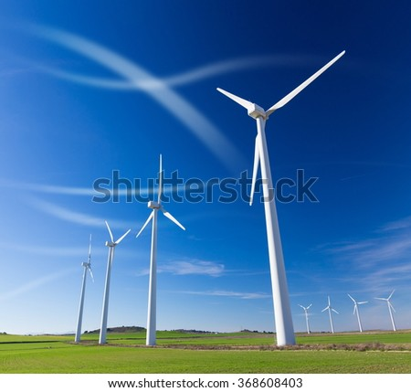 wind farm for a sustainable future