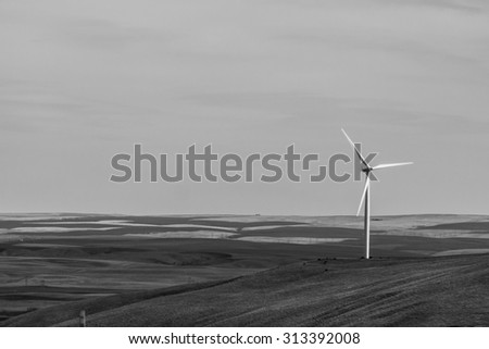 Wind Farm Turbines for Hydro Generation