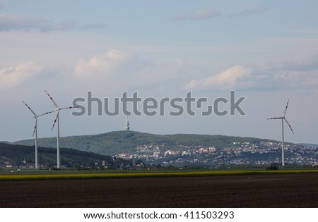 Wind generators, ecology, windmill
