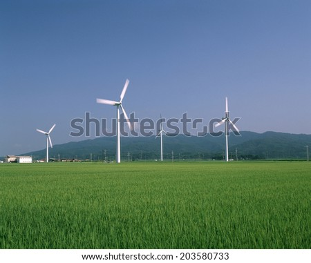 Wind Power Generation In Shonai Field