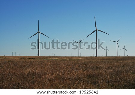 wind power in south central kansas USA