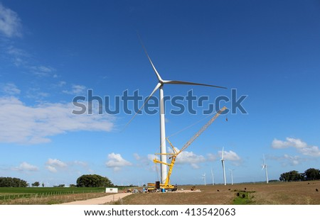 Wind Power Pinwheel Maintenance