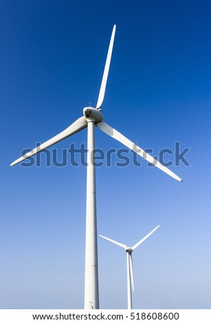 Wind power plant, energy systems, renewable energy