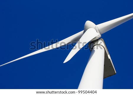 Wind-turbine - stock photo