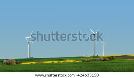 Wind turbine, alternative energy source