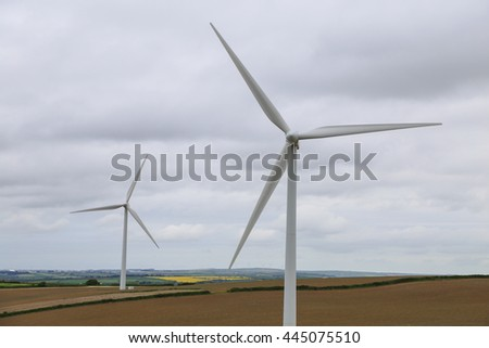wind turbine, energy, renewable energy, field, landscape