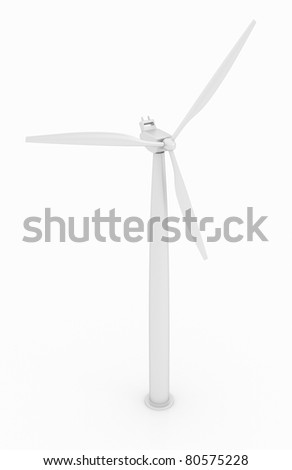 Wind turbine with alpha channel