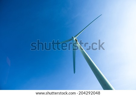 wind turbines alternative energy source.