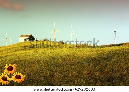 Wind turbines and renewable energy