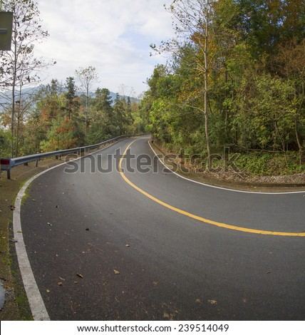 Winding Road Background Stock Photo Edit Now 239514049
