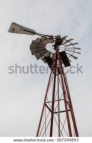 Windmill against the sky #2