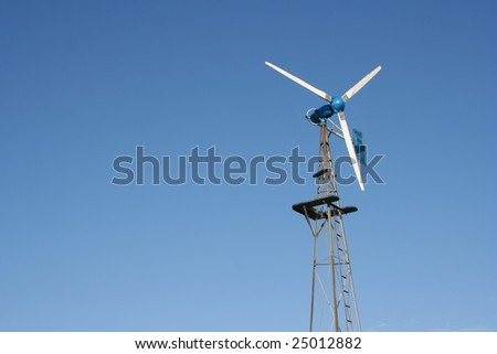 Windmill with room for copy