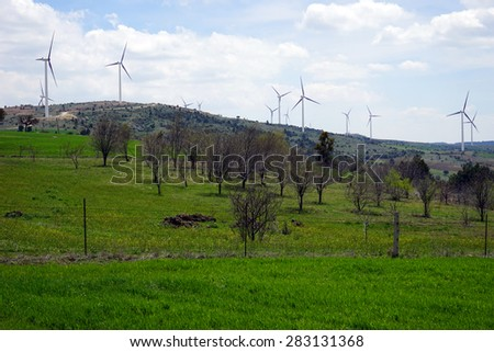 windmills for prickly wire