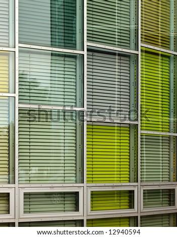 window color - stock photo
