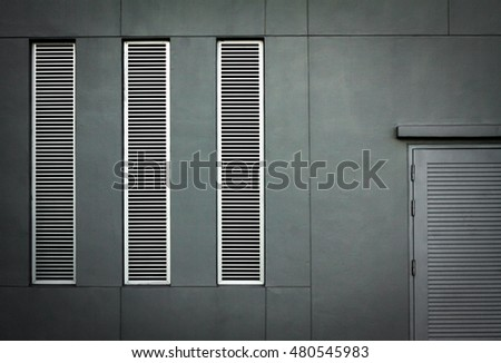 window. door. window and door. Window with light steel shutters. Close-up view. You can tile this seamlessly as a pattern to fit whatever size you need. Vector illustration. stainless. steel. metal.