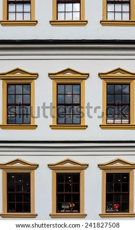 window english style - stock photo