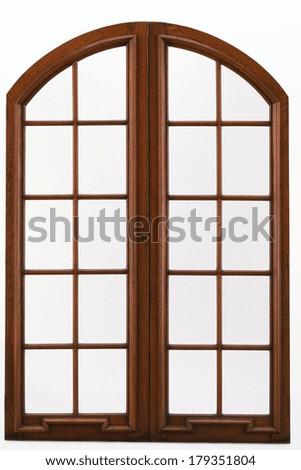 window frame isolated - stock photo