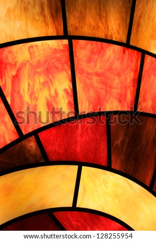 Window glass background - stock photo