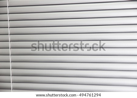 Window grey metallic jalusie sunblinds background