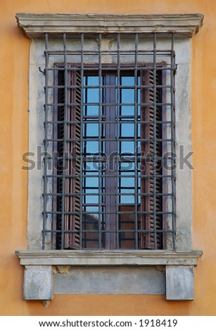 Window in Florence, Italy