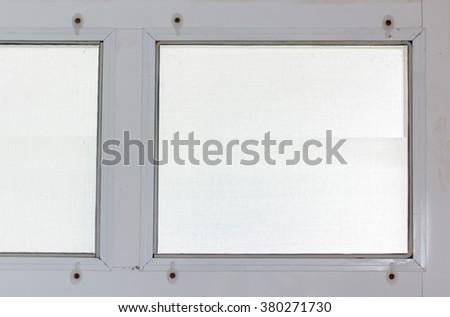 window nets - stock photo