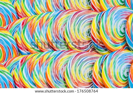 Window of a candy store, Fleet Street in Westminster district, London  - stock photo